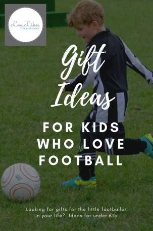 Gift Ideas For Kids Who Love Football Lou Likes